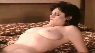 Mature seduces a young guy