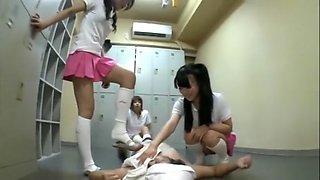 Japanese Schoolgirls Foot Humiliation