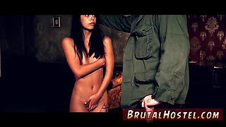Become sex slave and leather bondage xxx Poor lil Latina teen Gina Valentina is indeed