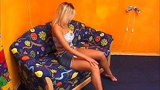 Busty Teen Natasha Dildo Fuck Pussy