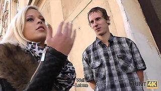 HUNT4K. Man penetrates for money neighbor's future wife...