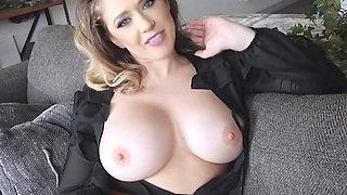 Big boobed MILF stepmom loves taboo sex with stepson
