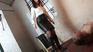 Severe belts mistress slave hard