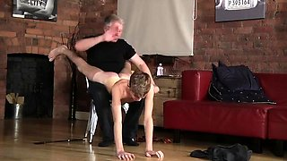 Hot nude boys with long hair gay Spanking The Schoolboy