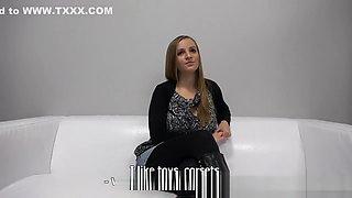 Czech teen getting her milk jugs creamed