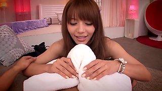 Tina Yuzuki in Worlds Top Class Soapland part 1.1