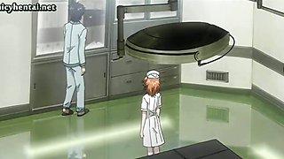 Voluptuous animated nurse fucked