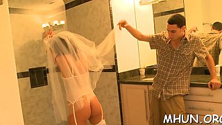 Mature MILF whore is here to test a perfect meat pole