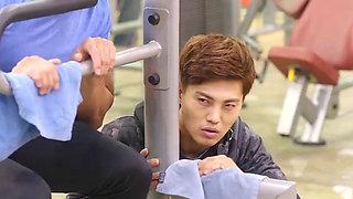 Ha Na Gyung Korean Girl La Risa Russian Girl Ero Actress Movie Star Fitness Trainer Sex With Customer In Gym Korean Male Yang Ah