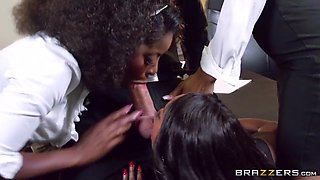 Big Tits at Work: Office 4-Play VII: Ebony Babes. Anya Ivy, Diamond Jackson, Jade Aspen, Jasmine Webb, Keiran Lee