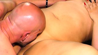 SEXTAPE GERMANY - German blonde rides cock for first porn