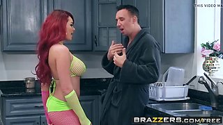 brazzers - baby got boobs -  raving about her tits scene sta