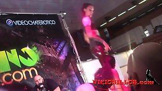 Silvia Rubi y Chiara Diletto BDSM domination show in SEB
