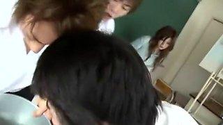 Horny Japanese chick Riri Kuribayashi in Fabulous Facial, Cougar JAV clip