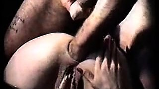 Gaping pussy is fisted fingered and pounded cruelly