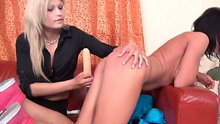 Spanked for being horny