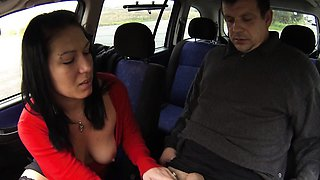 Whore MILF Gets Paid for Car Fuck