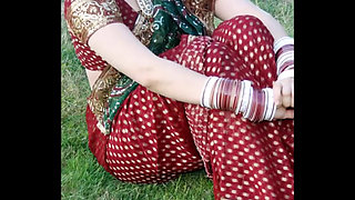 Indian newly married hot, sexy & beautiful sister in law posing for husband in p HIGH