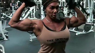 Gym Workout With Muscle Goddess LDR
