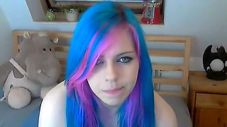 Found my EMO step sister camming