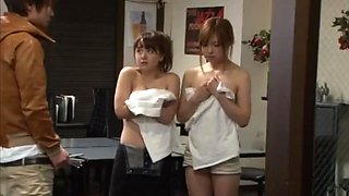 japanese reluctant threesome censored