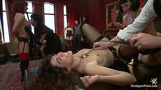 Coral Aorta & Odile in Slave Sex Brunch - TheUpperFloor