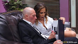 Cherie Deville And Zac Wild - Busty Cougar Gets Railed By An Aggressive Fucker