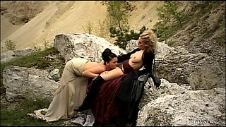 Lesbian Fun With The Hot Blonde And Brunette Vanessa Hill And Victoria Swinger