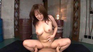 Best Japanese slut Hinata Komine in Amazing DP/Futa-ana, Big Tits JAV video