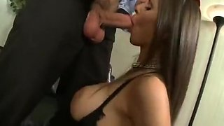 Smoking Hot Cigarette Girl Rachel Roxxx fucks her big tipper in the Gentlemen's club