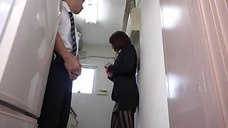 Pantyhose Miniskirt Secretary at Office 2of4 censored ctoan
