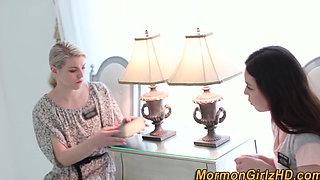 Dominated lesbian mormon