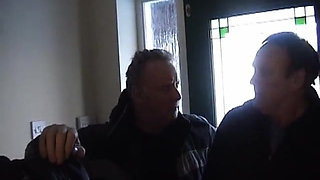 Pretty Pregnant lady fucked by an old fat guy