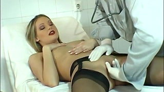 Liz Honey Hard Fucking Black Stockings