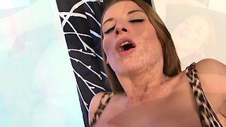 Sexy slut gets anal in front of her husband