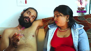 Indian aunty has sex with boy friend