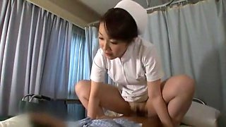 Hottest Japanese slut Aya Sakuraba, Yuri Aine, Yu Kawakami in Exotic Nurse JAV movie