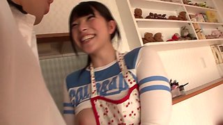 Exotic Japanese model Ai Uehara in Amazing party, couple JAV video