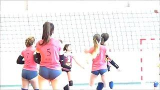 Candid voleyball booty culitos voleibol 2
