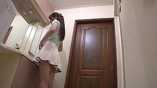 Incredible Japanese slut Yui Oba in Exotic showers, handjobs JAV clip