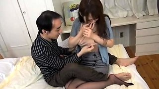 Asian fetish slut blowjob milk enema