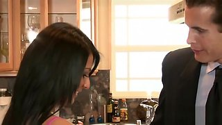 Lexi Diamond Gets Nailed In The Kitchen