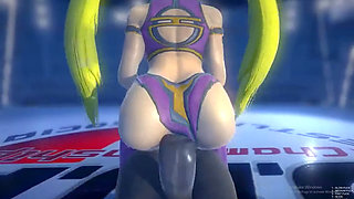 mika bounces 3d hentai