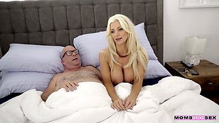 Giant breasted MILF Brittany Andrews is horny about riding strong cock