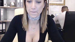 my secretary loves to get dirty in the office