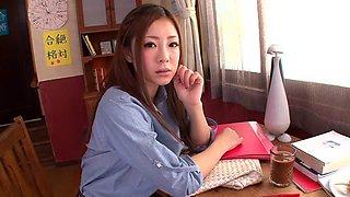 Horny Japanese chick Minori Hatsune in Exotic JAV censored Cumshots, Big Tits scene
