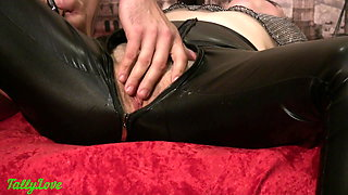 Love Cum on Leather