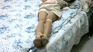 Homemade Cruel spanking of an Asian milf