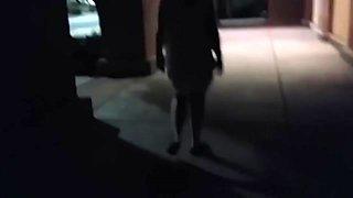 Splackum! Wife Flashing At Mall!