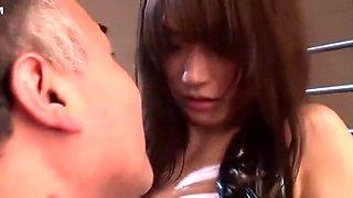 Incredible Japanese model Saki Kouzai in Exotic Bukkake, Gangbang JAV movie